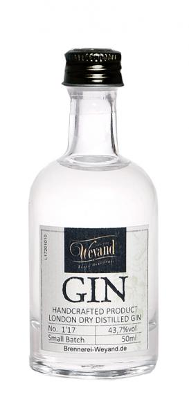 HANDCRAFTED LONDON DRY DISTILLED GIN 0,05L