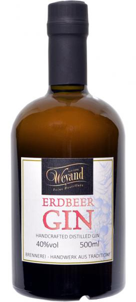 HANDCRAFTED DISTILLED GIN ERDBEER 0,5l